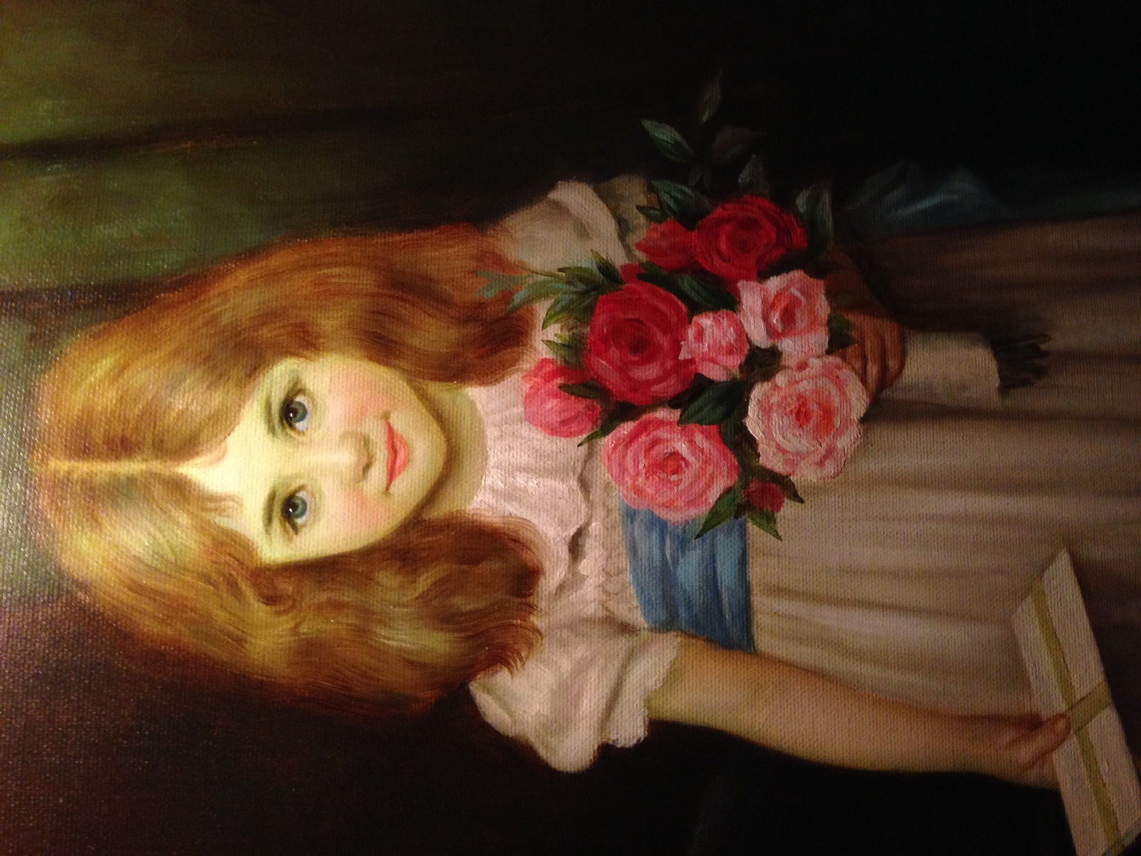 Haunted Painting - Driskill Hotel